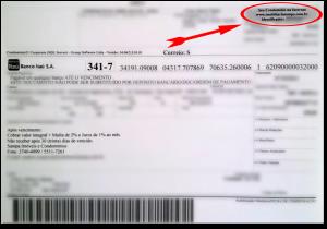 Boleto - Código Identificador